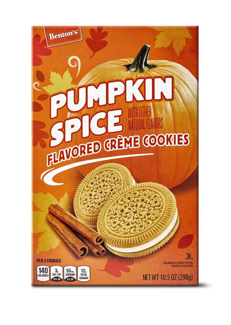 aldi pumpkin spice cookies