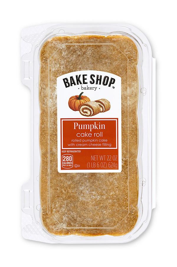 Aldi Bake Shop Pumpkin Cake Roll