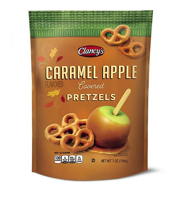 Clancy's Caramel Apple Flavored Pretzels