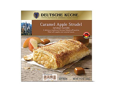 german week caramel apple strudel