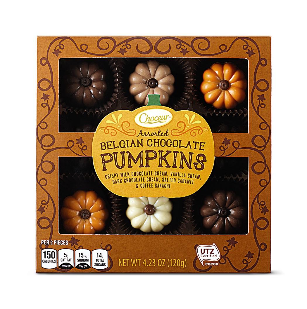 choceur pumpkin chocolates