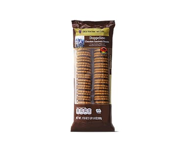 aldi german chocolate doppelino cookies