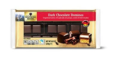 German Week Dark Chocolate Dominos