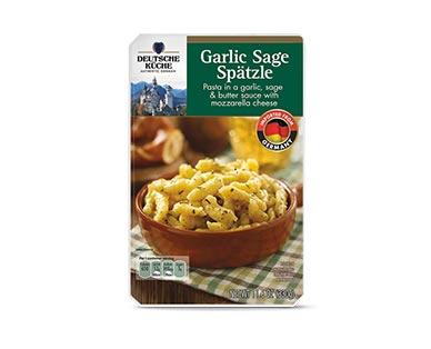 aldi frozen garlic sage spatzle