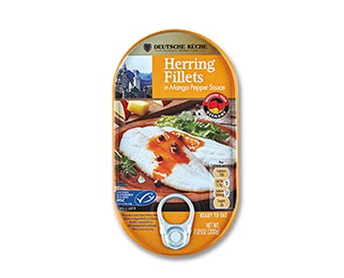 aldi german week herring fillets