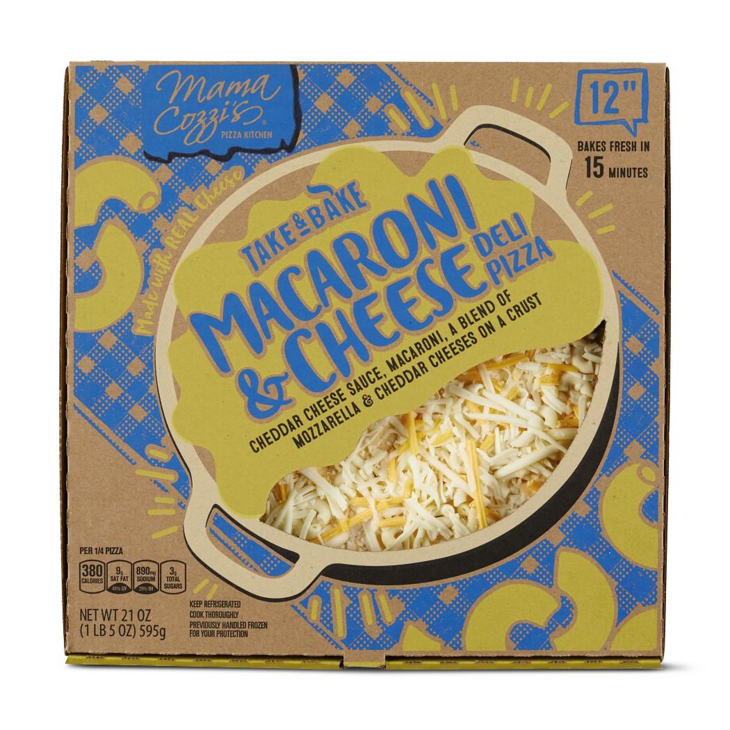 Aldi macaroni and cheese pizza