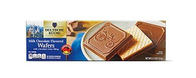 Deutsche Kuche Milk Chocolate Wafers