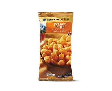 german week peanut puffs