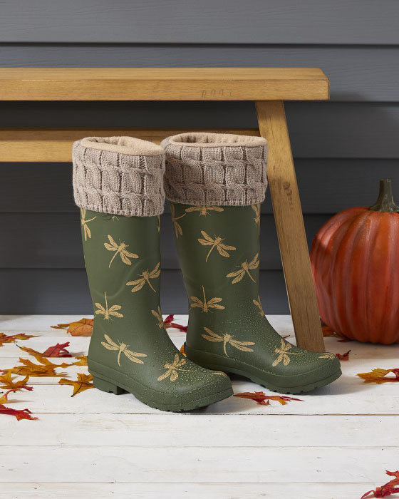 dragonfly boots
