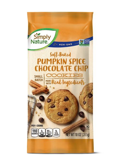 pumpkin chocolate chip soft baked cookies