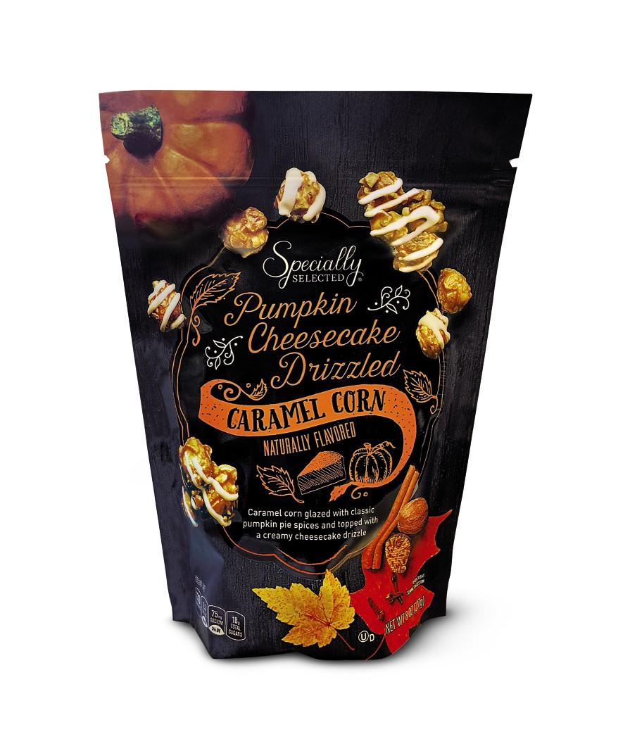 Aldi pumpkin stuff popcorn