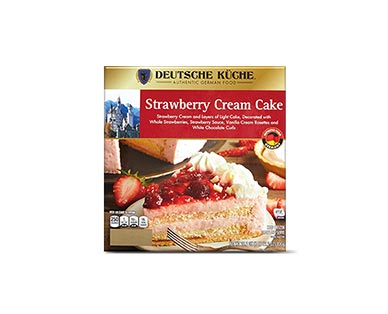 german strawberry cream cake
