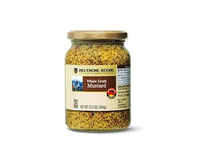 deutsche kuche whole grain mustard