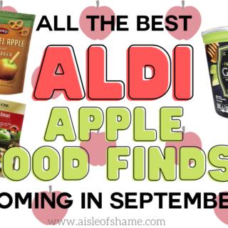 aldi apple food finds