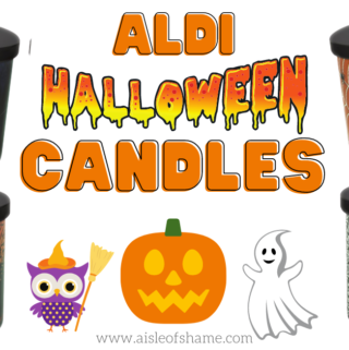 aldi halloween candles