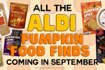 all the aldi food finds coming in september