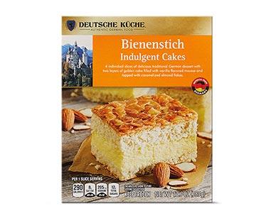 bienenstich indulgent cake at aldi