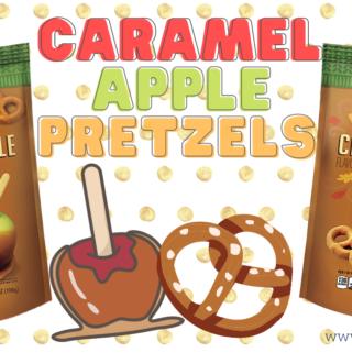 aldi caramel apple covered pretzels