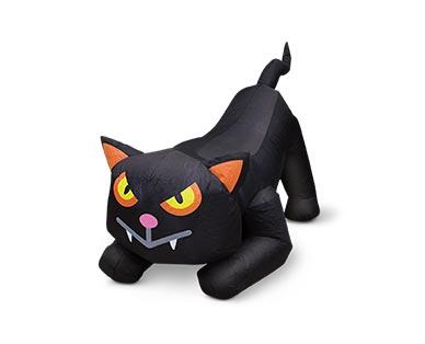 aldi halloween cat inflatable