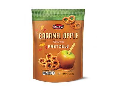 caramel apple pretzels