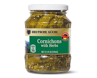 cornichons at aldi