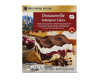 donauwelle indulgent cake at aldi