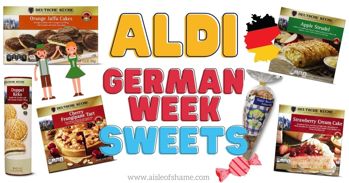 Aldi german week sweets logo
