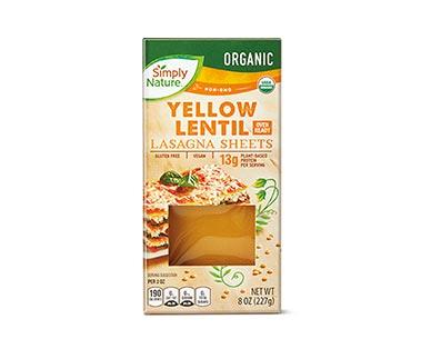 lentil lasagna sheets