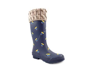 navy duck umbrella boots