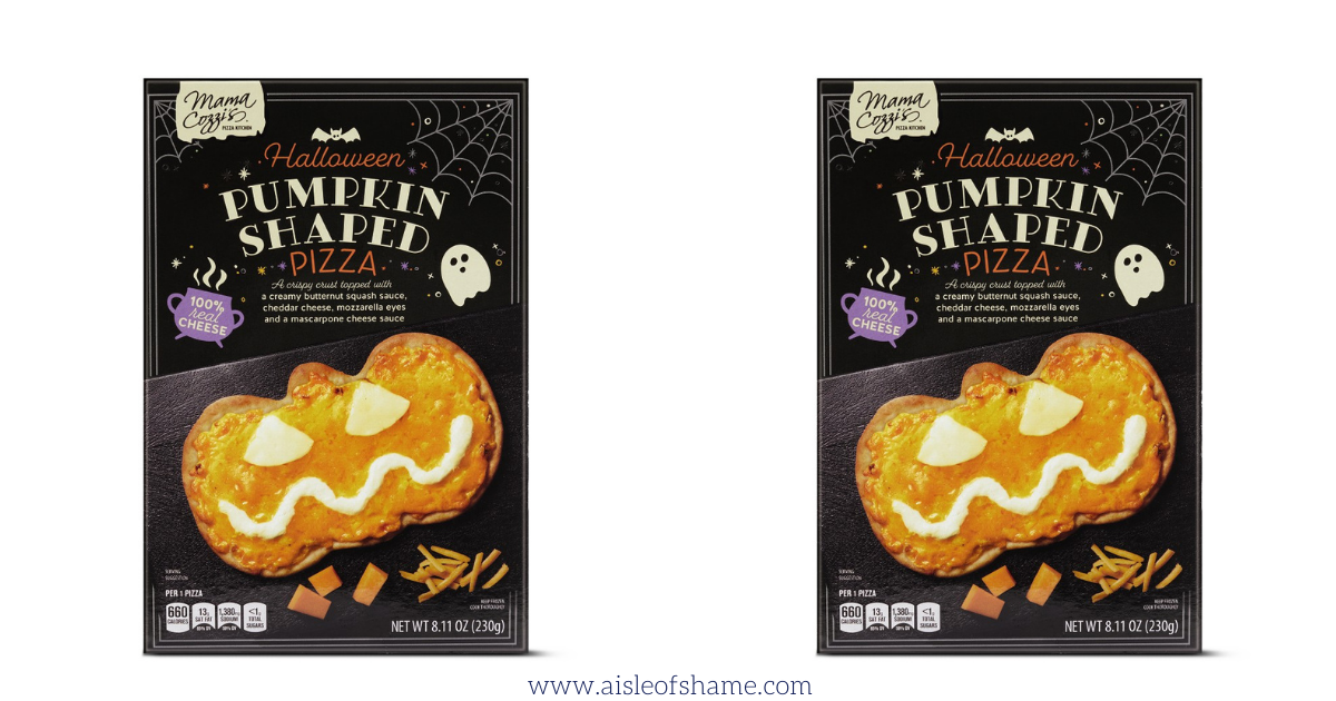 Aldi Is Selling Pumpkin Shaped Pizza And Fair Warning They Ll Be Gone Before Halloween Aisle Of Shame