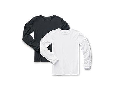 white long sleeve tees