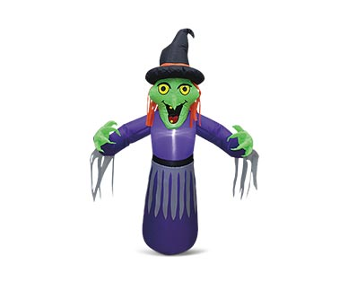 aldi witch inflatable