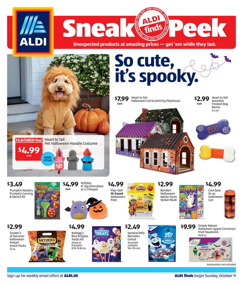 aldi ad preview october 14th 2020
