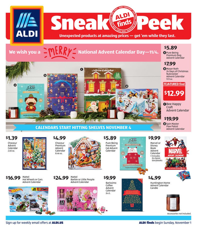 aldi ad november 1 2020 page 1 of 4