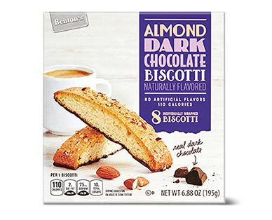 almond dark chocolate biscotti