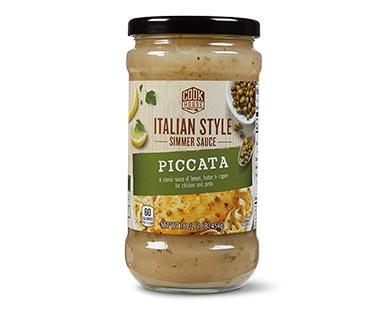 piccata simmer sauce at Aldi