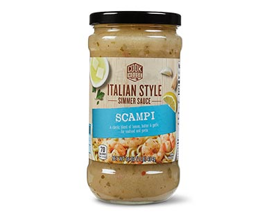 scampi sauce at Aldi