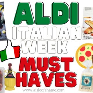 Aldi italian week