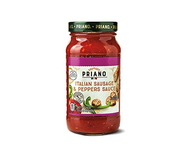 priano italian week sauces