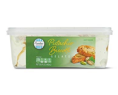 pistachio gelato at aldi