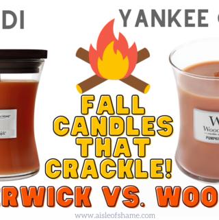 aldi timberwick fall candles