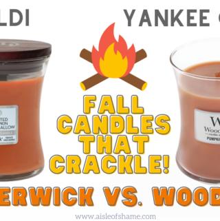 aldi timberwick candles