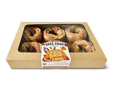 bake shop pumpkin spice donuts