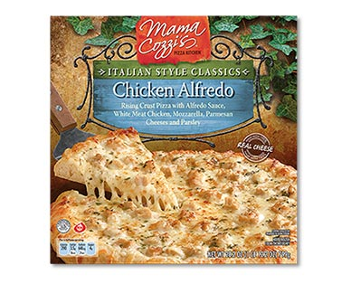chicken alfredo frozen pizza at aldi
