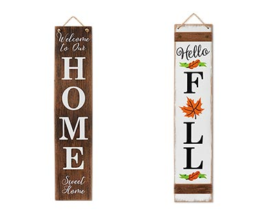 harvest porch signs