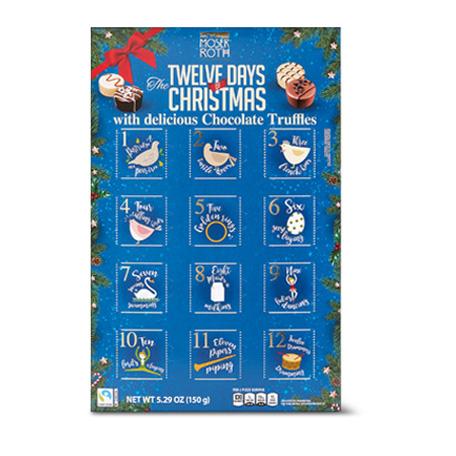 moser roth 12 days of christmas calendar