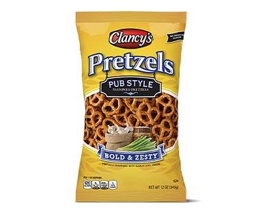 pub style pretzels