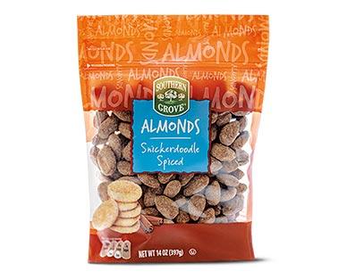 snickerdoodle almonds