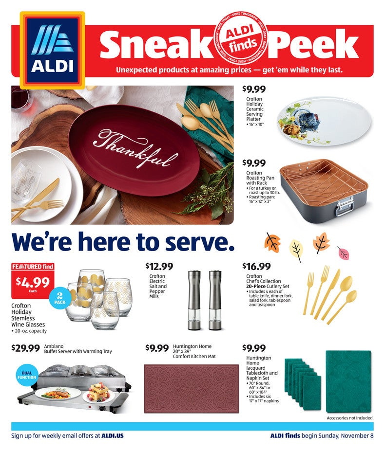 Aldi Ad November 17th 2020 Page 1 of 4