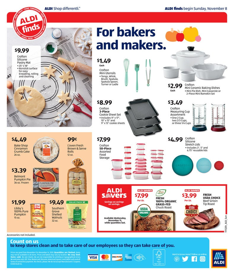 Aldi Ad November 17th 2020 Page 4 of 4